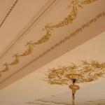 Dorure sur plafond